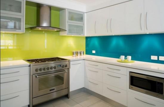 : كيفية تنظيف حوائط المطبخ : حوائط