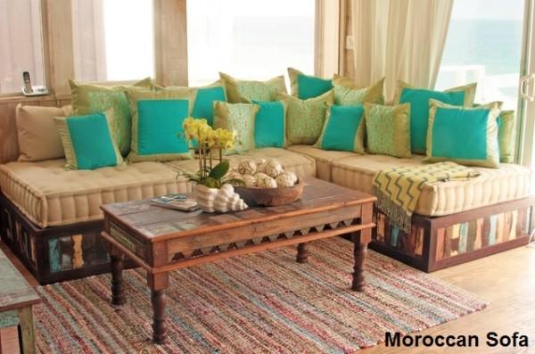 كنب مغربي لغرف المعيشة